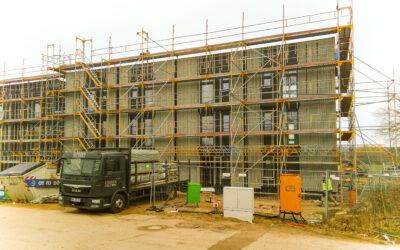 Nachhaltige Holzfassade für flairHouse